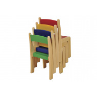Beechwood Stackable Chair