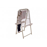 2 Sided Clear Board Easel Set