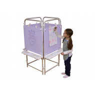 4 Sided Dry Wipe Easel Set
