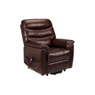 Buckley Leather Dual Motor Rise & Recline Chair