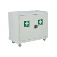QMP First Aid Mobile Cupboards