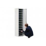 QMP Single Door Laptop & Tablet Storage Locker