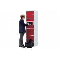 QMP Multi Door Laptop & Tablet Storage Locker