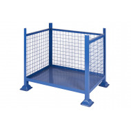 Open Fronted Pallets With Mesh Sides