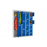 QMP PPE Locker With Sloping Top