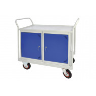 Mobile Maintenance Trolley With Double Cupboard