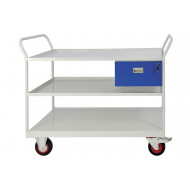 Mobile Maintenance Trolley With Drawer And 3 Shelves