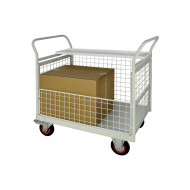 Mailroom Trolleys With Full Side