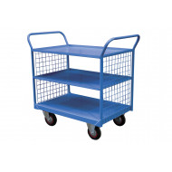 3 Tier Shelf Truck With Mesh Sides