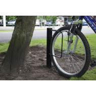 Single Sided Floor Mounted Cost Saver Cycle Rack