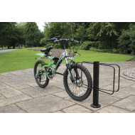 Double Sided Floor Mounted Cost Saver Cycle Rack