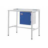 Team Leader Flat Top Workstation With Cupboard