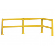 Lift Out Twin Rail Barrier Posts
