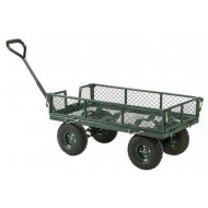 Mesh Turntable Truck With Drop Down Sides (250kg Capacity)
