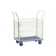 Mesh Container Trolley (150kg Capacity)