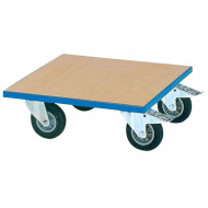 Wooden Deck Dolly With MDF Platform
