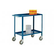 Tray Trolley With 2 Shelves
