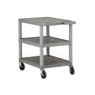 Plastic Shelf Trolley (120kg Capacity)