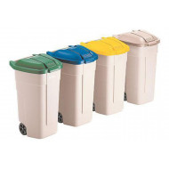 Rubbermaid Waste Separation Bins (100ltrs)
