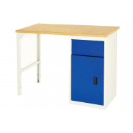 Bott Basic Workbench With Single Pedestal And Drawer