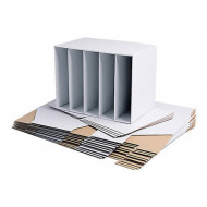Cardboard File Holders (10 Pack)