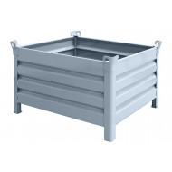 Steel Pallets With Solid Sides