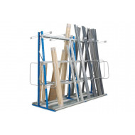 Double Sided Vertical Storage Rack