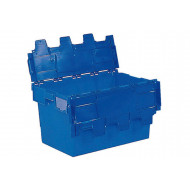 60 Litre Blue Polypropylene Distribution Container With Blue Lid