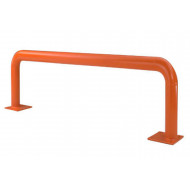 Rack end protection barriers