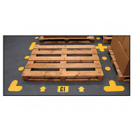 Warehouse Floor Signal Markers