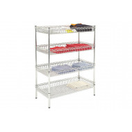 Chrome Storage Baskets For Wire Basket Shelving