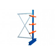 Heavy Duty Double Sided Cantilever Racking Add On Bay