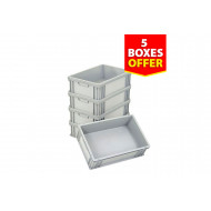 Solid Stackable Eurocontainer Bundle Deal
