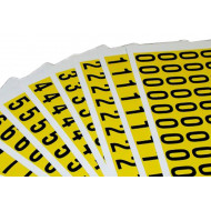 Self Adhesive Numbers 19mm High (Pack Of 36)