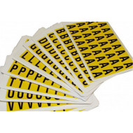Self Adhesive Letters 12.5mm High (Pack Of 90)