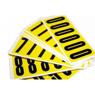 Self Adhesive Numbers 90mm High (Pack Of 6)