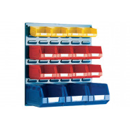 Louvre Panel Kit With 15 Bins