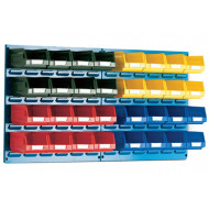 Louvre Panel Kit With 32 Bins
