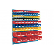 Louvre Panel Kit With 87 Bins