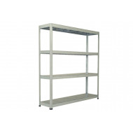 Rapid 1 Heavy Duty Galvanized Shelving With 4 Galvanized Shelves 1830wx1980h