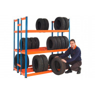 Rapid 1 Double Sided Tyre Rack