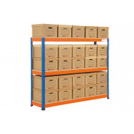 Rapid 1 Archive Storage Unit With Brown Boxes