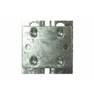 Tie Plates For Rapid 1 Heavy Duty Galvanized Shelving