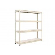 Rapid 1 Standard Shelving With 4 Melamine Shelves 1830wx1980h (Grey)