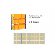 Pallet Racking Kit For 36 Pallets 11289wx3000h