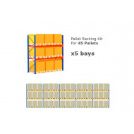 Pallet Racking Kit For 45 Pallets 14075wx3000h