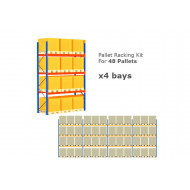Pallet Racking Kit For 48 Pallets 11289wx4000h