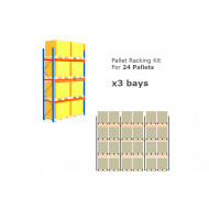Pallet Racking Kit For 24 Pallets 8503Wx4000H