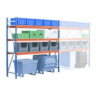 Rapid Span heavy duty shelving starter bay