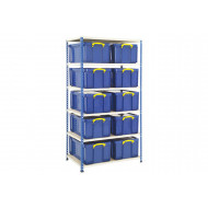 Rapid 2 Storage Bay With 10 x 64 Litre Really Useful Boxes